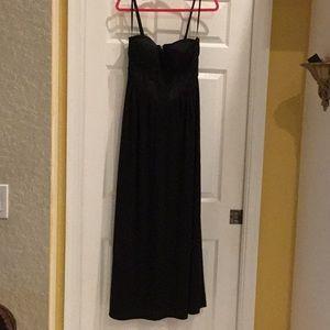 NWT Kardashian Kollection Black Maxi Dress